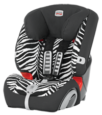 Britax Автокресло 'Evola 1-2-3 Plus Zebra' BRITAX