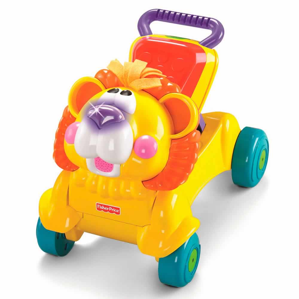 Fisher Price Машинка-толокар Лев FISHER PRICE