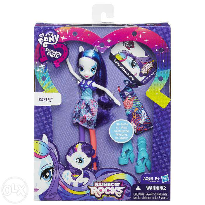 My Little Pony Кукла Рарити с аксесуарами серия Рок звезды My Little Pony HASBRO