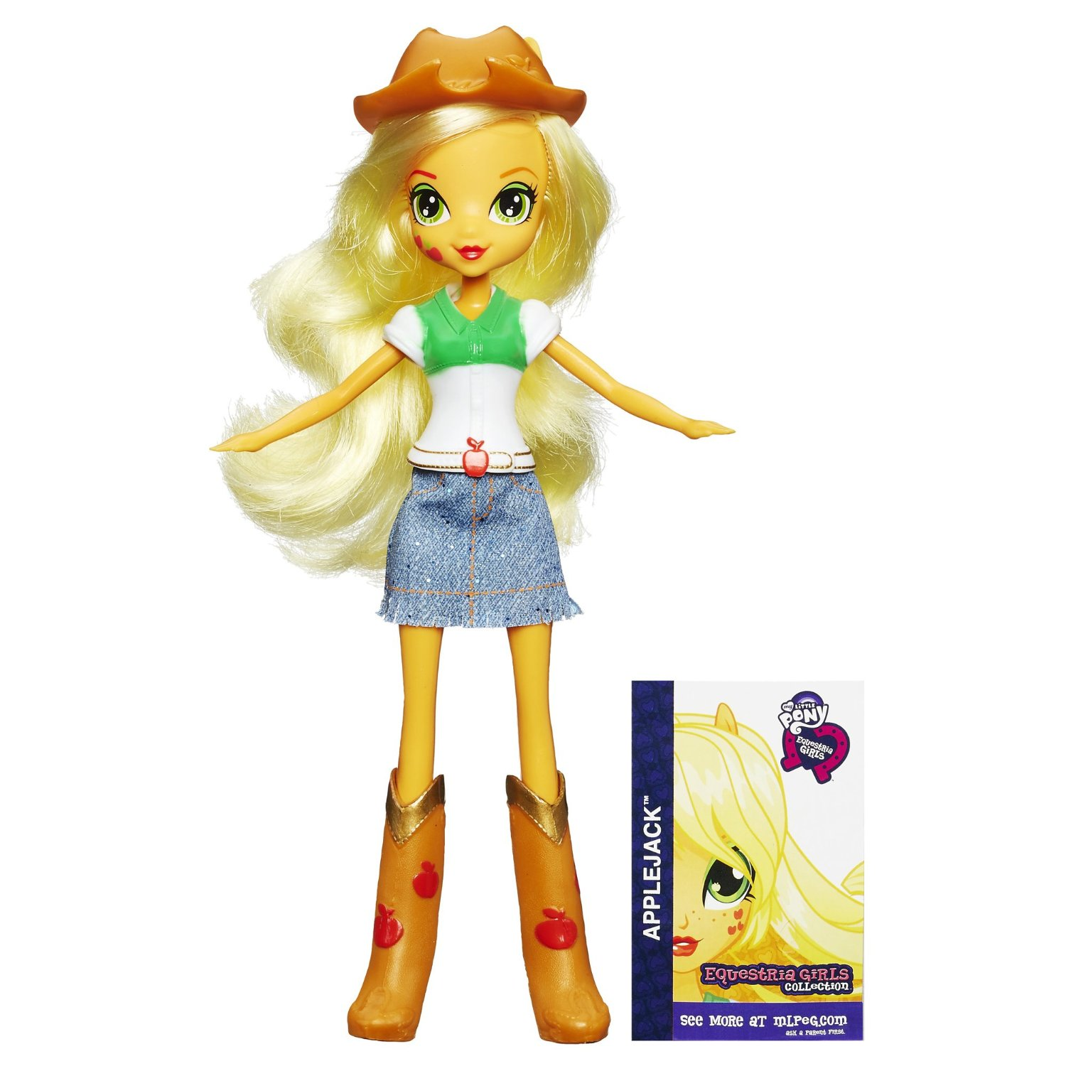 My Little Pony Кукла Эплджек коллекционная Equestria Girls My Little Pony HASBRO