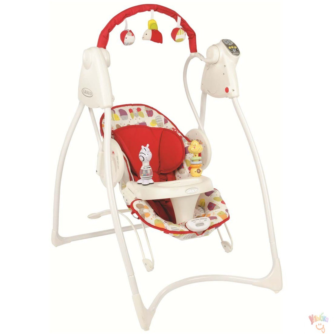 Graco Кресло-качалка  Swing n Bounce Garden Friends GRACO