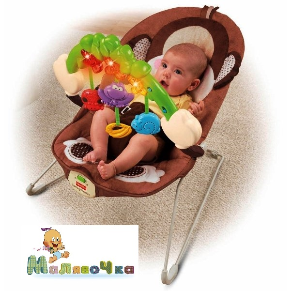 Fisher Price Виброшезлонг  Делюкс Fisher Price