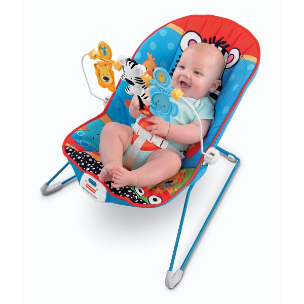 Fisher Price Виброшезлонг 'Animals' FISHER PRICE