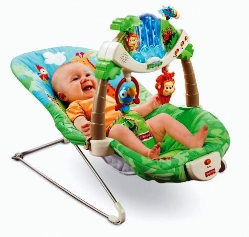 Fisher Price Виброшезлонг 'Джунгли' FISHER PRICE