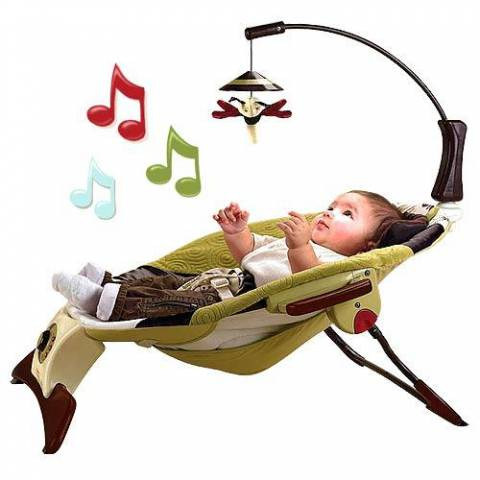 Fisher Price Виброшезлонг 'Zen collection' FISHER PRICE