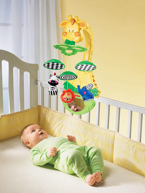 Fisher Price Мобиль Жираф FISHER PRICE